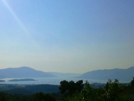 KVC006 - Medium size plot in Kavac with semi-detached stone house, and sea views